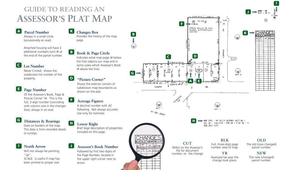 How To Read A Plat Map Guide to Reading an Assessor's Plat Map « Richard Schulman How To Read A Plat Map