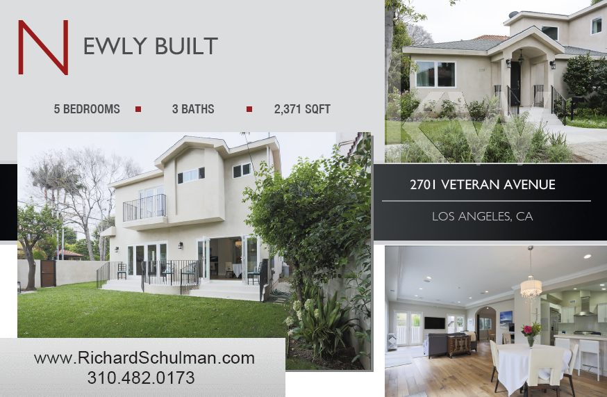 Marketing Flyer and Postcard Examples Los Angeles Real Estate – Real Estate Marketing Postcard Templates